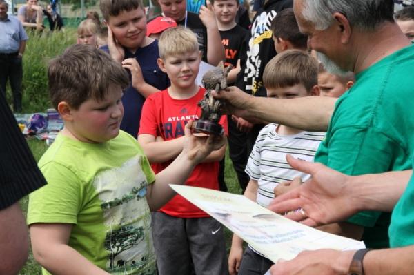 Łęgoń: Zawody wędkarskie z okazji Dnia Dziecka