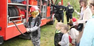 Dzieci już wiedzą jak Wojtek został strażakiem