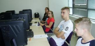 Uczniowie ze Staszica na Wydziale Informatyki Uniwersytetu Zielonogórskiego