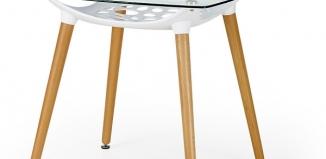Szklany stół - praktyczny mebel do kuchni i salonu