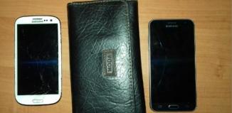 Znaleziono damski portfel i dwa telefony