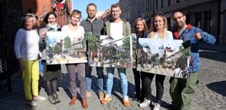 Antkowiak przedstawia nową ulicę Bohaterów Westerplatte. Ma to być ciąg pieszo-rowerowy i miejsce spotkań