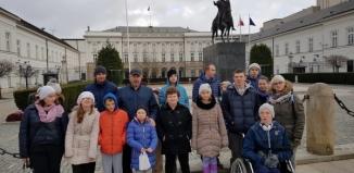 Dzieci z Ośrodka Szkolno Wychowawczego na wycieczce w Warszawie