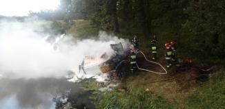 Wypadek śmiertelny na drodze wojewódzkiej nr 324