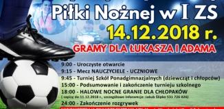 Charytatywnie w Staszicu: turniej szkolny i halowe nocne granie