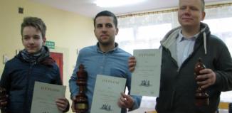 Eryk Szepe z Hetmana Wschowa wygrywa turniej w Przemkowie