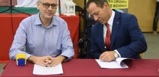Umowy o współpracy I Zespołu Szkół z pracodawcami