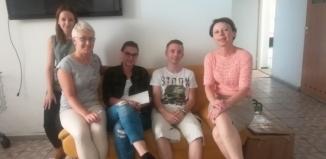 I Zespół Szkół gościł praktykantów z Niemiec