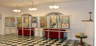 Wystawa wychowanki wschowskiego DPS