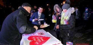 WOŚP Wschowa: wylicytowano tort za 1000 złotych