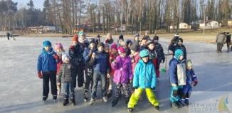 Zawody łyżwiarskie w Sławie