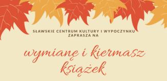 Wymiana i kiermasz książek z SCKiW
