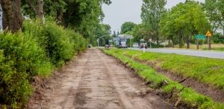 Ruszyła wielomilionowa inwestycja. Ścieżka pieszo-rowerowa z Górczyny do Jędrzychowic ma powstać do końca września
