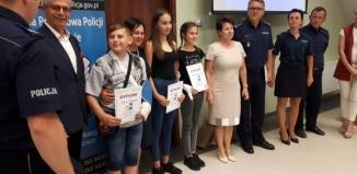 Uczennica SP Szlichtyngowa wygrała turniej ,,Bezpieczne Wakacje z Lupo