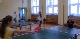 Lgiń: II turniej w tenisie stołowym