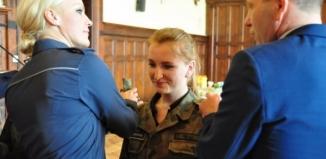 Nadanie awansu uczniom klas mundurowych
