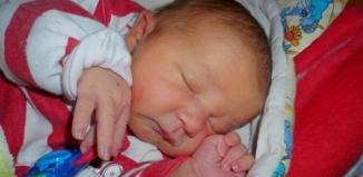 W Nowym Szpitalu urodził się Bartek