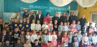 """Przedszkolaki z Osowej Sieni zwycięzcami Turnieju """"BEZPIECZNY PRZEDSZKOLAK"""""""