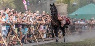 Średniowieczny Jarmark Cysterski: turniej łuczniczy, średniowieczne dania, obozowisko wojów