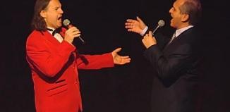Niezwykły duet i niezwykłe wykonanie utworu ,,Caruso