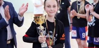 Turniej finałowy w koszykówce dziewcząt do lat 12. WSTK zajmuje 2 miejsce w województwie