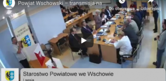 I Sesja powiatu wschowskiego - na żywo