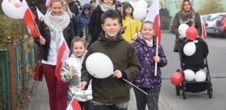 Marsz Pokoleń I Zespołu Szkół we Wschowie