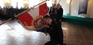 Tomasz Sosnowski żegna się ze służbą strażaka