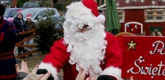 Mikołaj, elfy, śnieżynki i renifery w Sławie