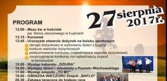 Dożynki Powiatowo-Gminne w Łupicach