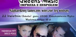Queens Music - imprezka z zespołem