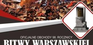 Oficjalne obchody 98 rocznicy Bitwy Warszawskiej