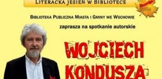 Spotkanie autorskie z Wojciechem Kondusza