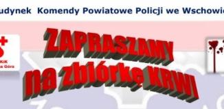 Zbiórka krwi - 100 lat Policji