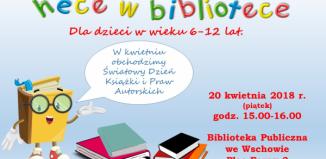 Hece w Bibliotece: Światowy Dzień Książki
