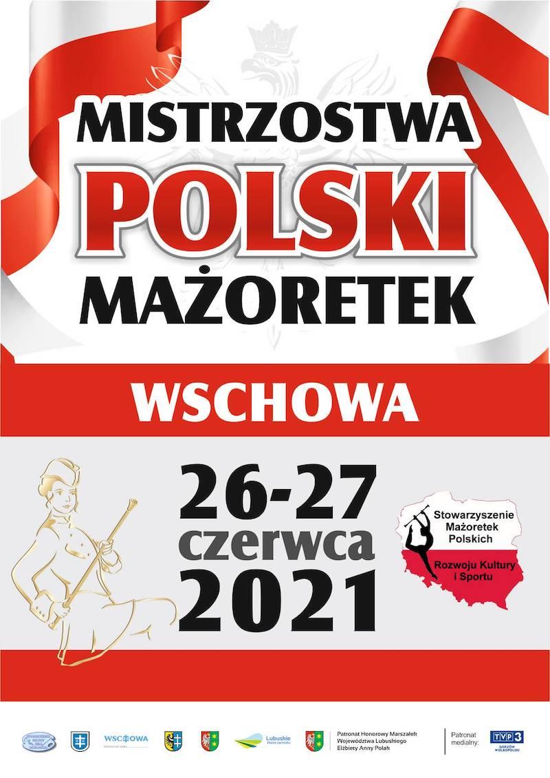 Mistrzostwa Polski Mażoretek Wschowa 2021. Worek z medalami dla  Klubu Lady Fitness