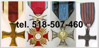 KUPIE stare odznaczenia,medale, orzełki