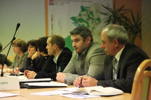 Debata o sporcie w gminie Sława