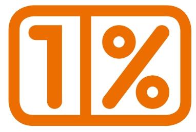 Kampania na rzecz pozyskania 1% odniosła sukces