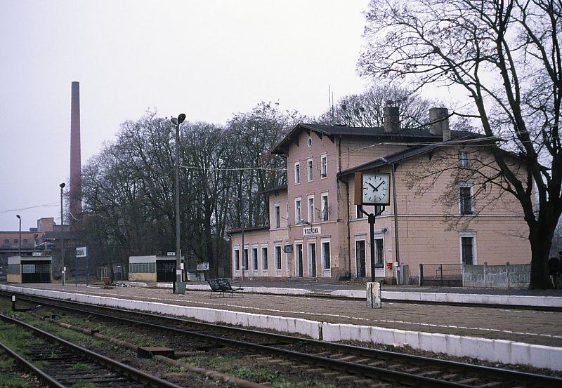 Likwidacja linii kolejowej Głogów-Leszno